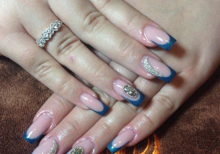Слайдеры на нарощенные ногти