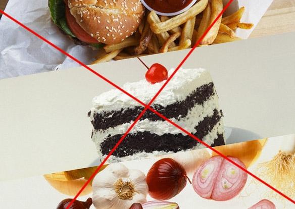 Забыть о вредной еде