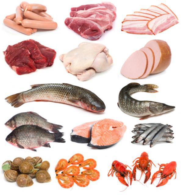 Продукты питания богатые витамином B12