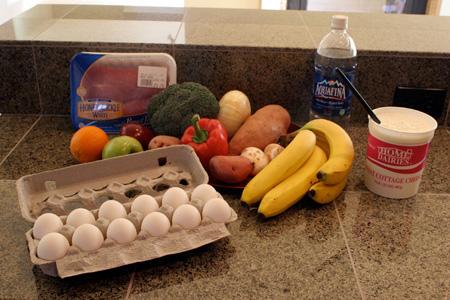 примеры дробного питания для похудения
