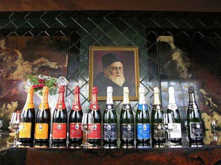 Шампанское от Дома шампанских вин Новый Свет в Крыму