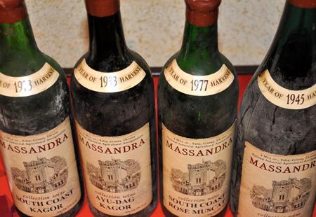 Легендарные крымские вина Массандры