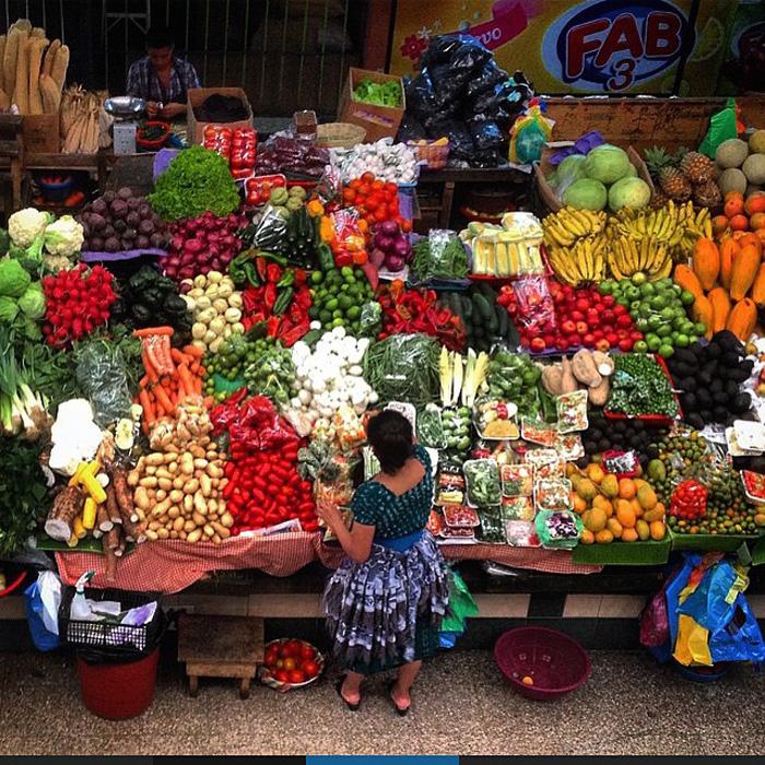 Овощи являются правильными продуктами