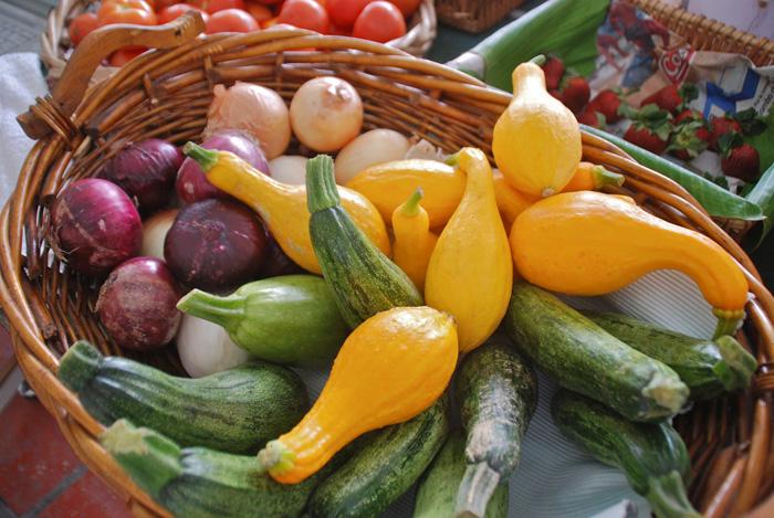 Включайте в питание овощи и фрукты