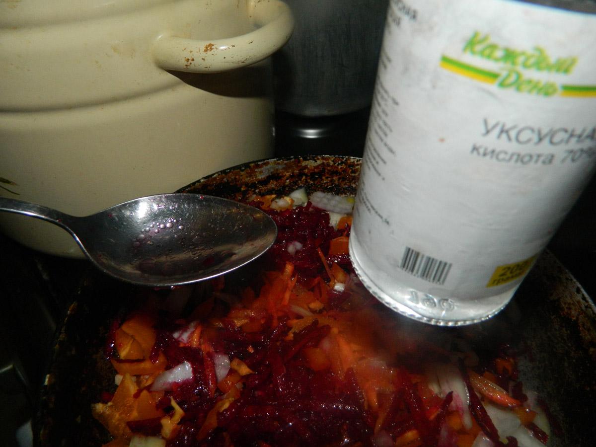 Борщ из свеклы классический рецепт пошагово со