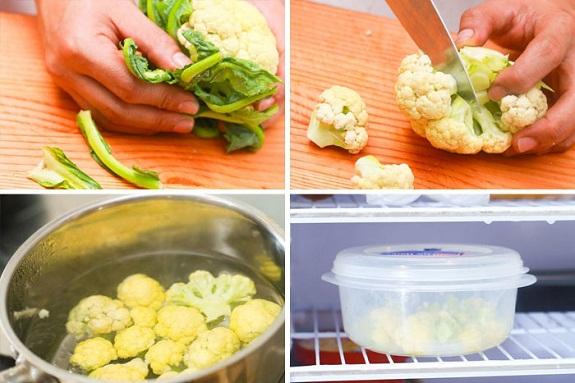 Готовим замороженную цветную капусту